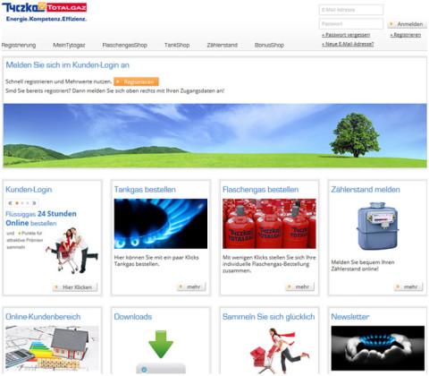 Extranet – Tyczka Totalgaz GmbH