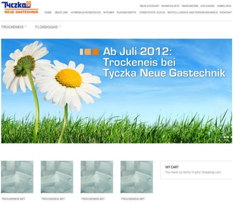 Onlineshop – Tyczka Neue Gastechnik GmbH & Co. KG