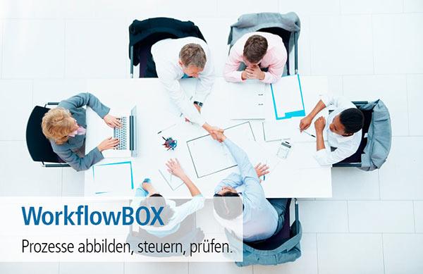 WorkflowBOX - Prozesse abbilden, steuern, prüfen.