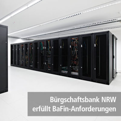 Bürgschaftsbank NRW – Backup mit Hilfe der K3 Innovationen