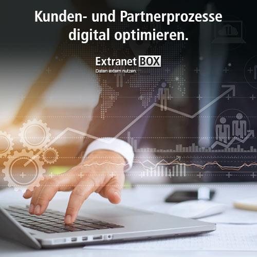 Digitalisierung mit der ExtranetBOX