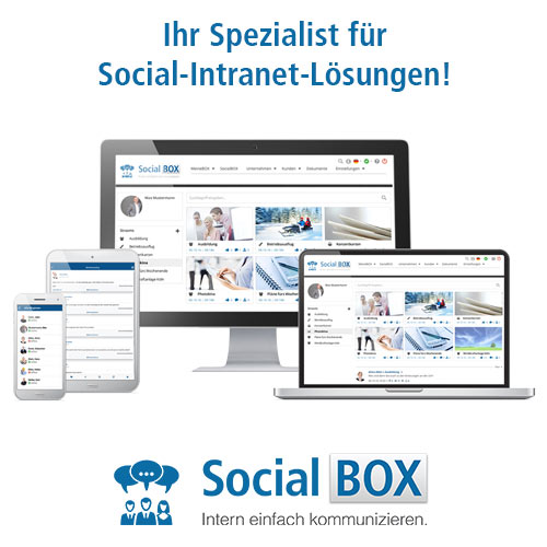 "Intranet Social Software ""SocialBOX"""