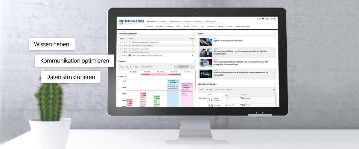 Intranet Software IntranetBOX