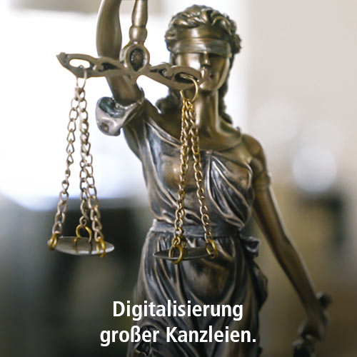 Digitalisierung großer Kanzleien