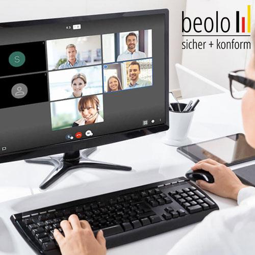 Videokonferenz auf hohem Sicherheitsniveau