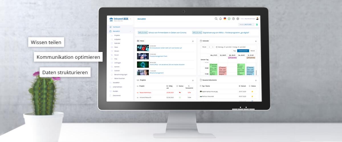 Intranet Software - Digitale Mitarbeiterportale - Wissensdatenbanken
