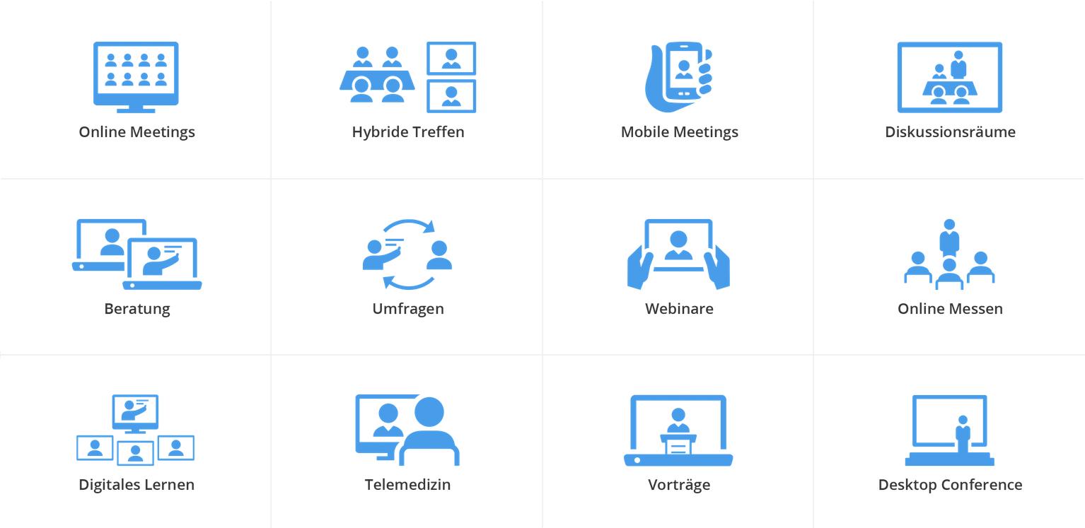 BigBlueButton Anwendungsbereiche