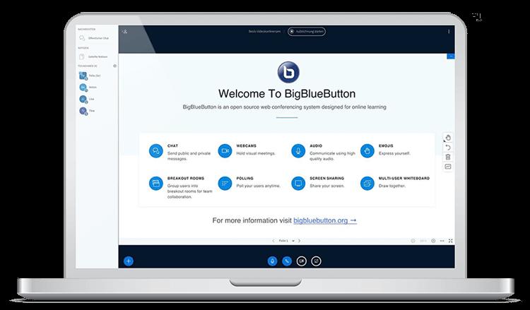 BigBlueButton Startseite