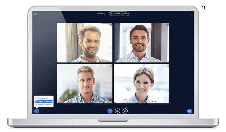 BigBlueButton Videokonferenz Funktionen